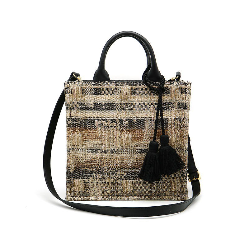 gold loom tote