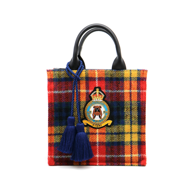 [Harris Tweed] Royal Bulldog Bag
