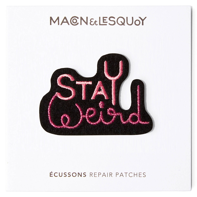 M&L Stay Weird patch