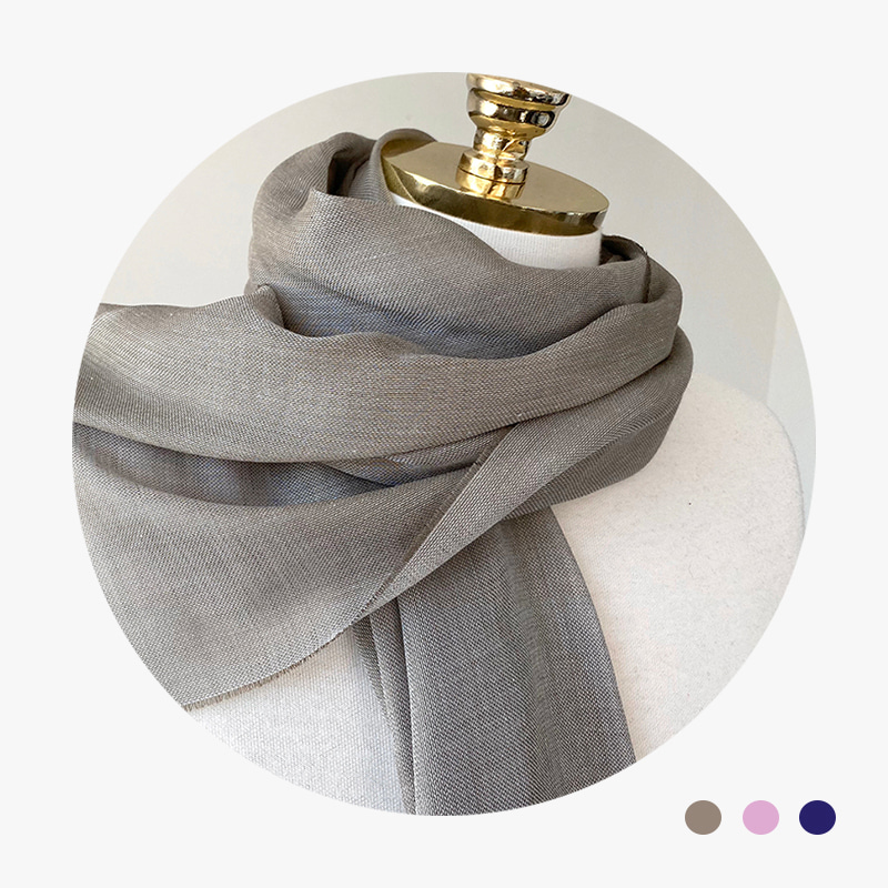 italy modal cashmere scarf