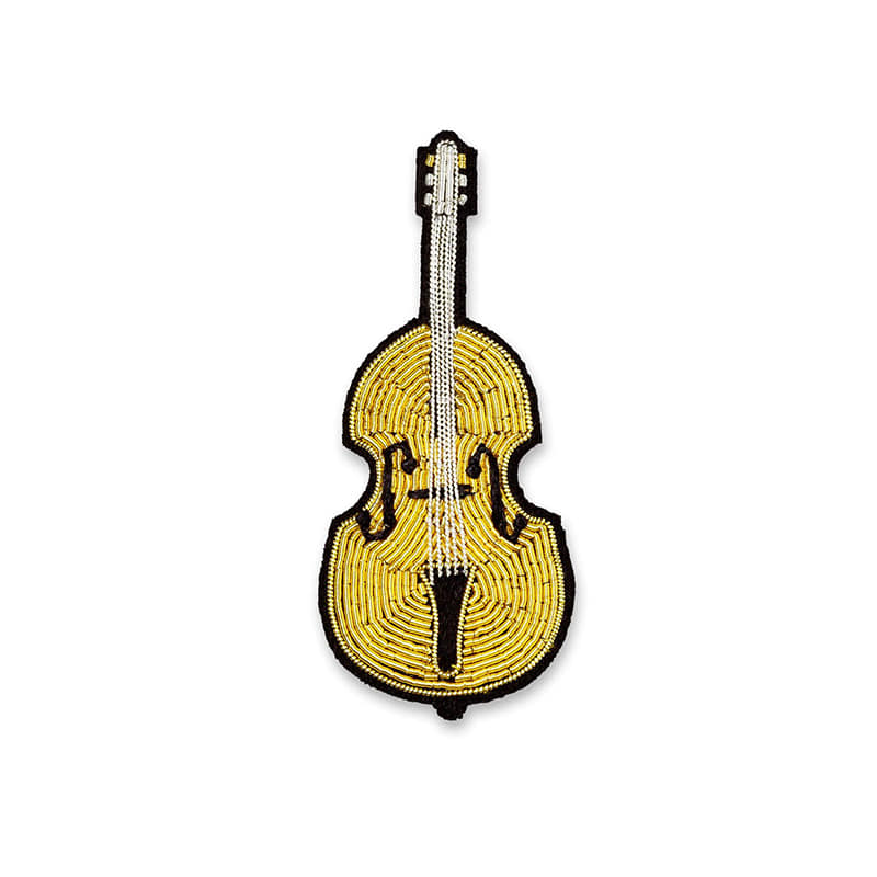 M&L Cello Brooch