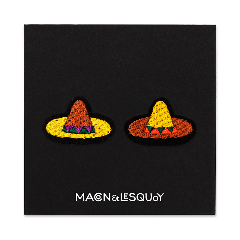 M&L Mini Sombreros patch